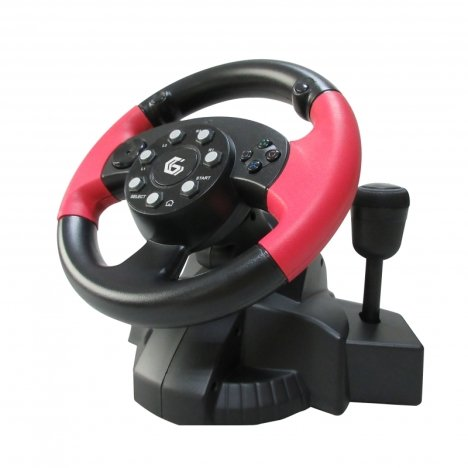 Volan multi-interface vibrating (PC/PS2/PS3),
